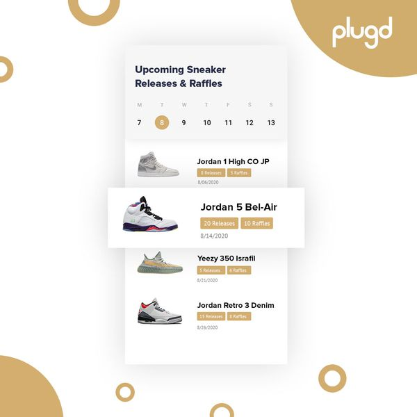 New Feature: Sneaker Release & Raffle Calendar