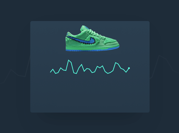 New Feature: Sneaker Price Trend Chart